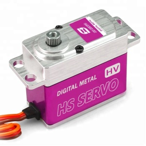 High Power 360 Degree Continues Rotation Full Metal Digital Robot Servo dc 24v