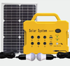 Portable Solar Power kit Mini Project Solar Lighting System With Solar Panel FM Radio MP3 and USB Phone Charger