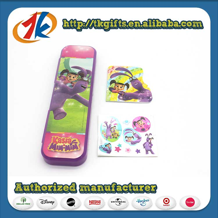 Customize Plastic stationery set school For Kids