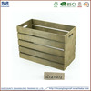 Customized wooden fruit crate boxes/Elegant wooden crate vanity box from goodlife