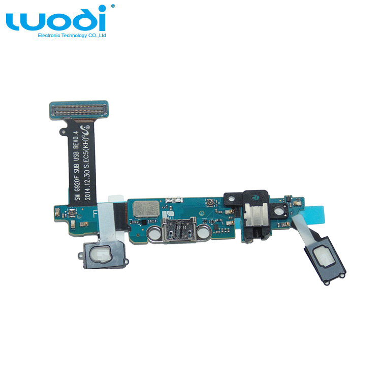 for Samsung Galaxy S6 G920F accept paypal Charging Port Flex Cable