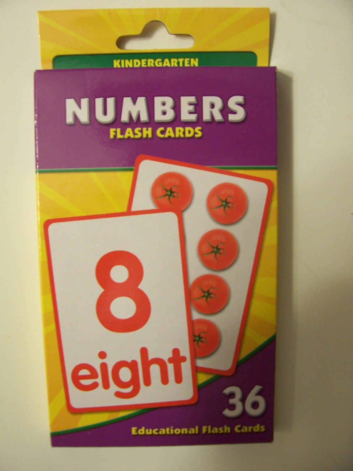 Educational Flash Cards ~ Numbers (36 Flash Cards; Kindergarten)
