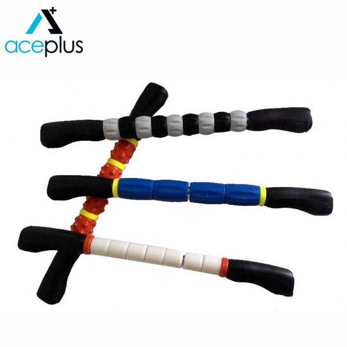 Réglable Dos Masseur Musculaire Bâton De Rouleau De Massage