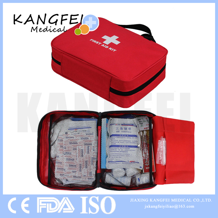 KF36 First Aid Kit Complete Emergency Bag with high quality medical supplies for Car Travel Home Office Sports Survival
