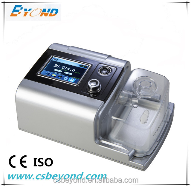 Portable medical ventilator CPAP for sleep apnea with humidifier with CE