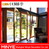 China modern style aluminum tilt turn door,awning door high quality aluminum doors