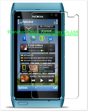 2 x High Quality Clear Glossy Screen Protector Film Guard Cover For Nokia N8