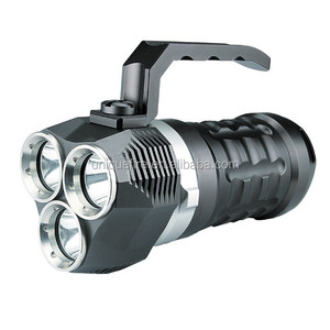 UniqueFire 3000 LM with 4*18650 rechargeable li-ion battery waterproof diving led torch