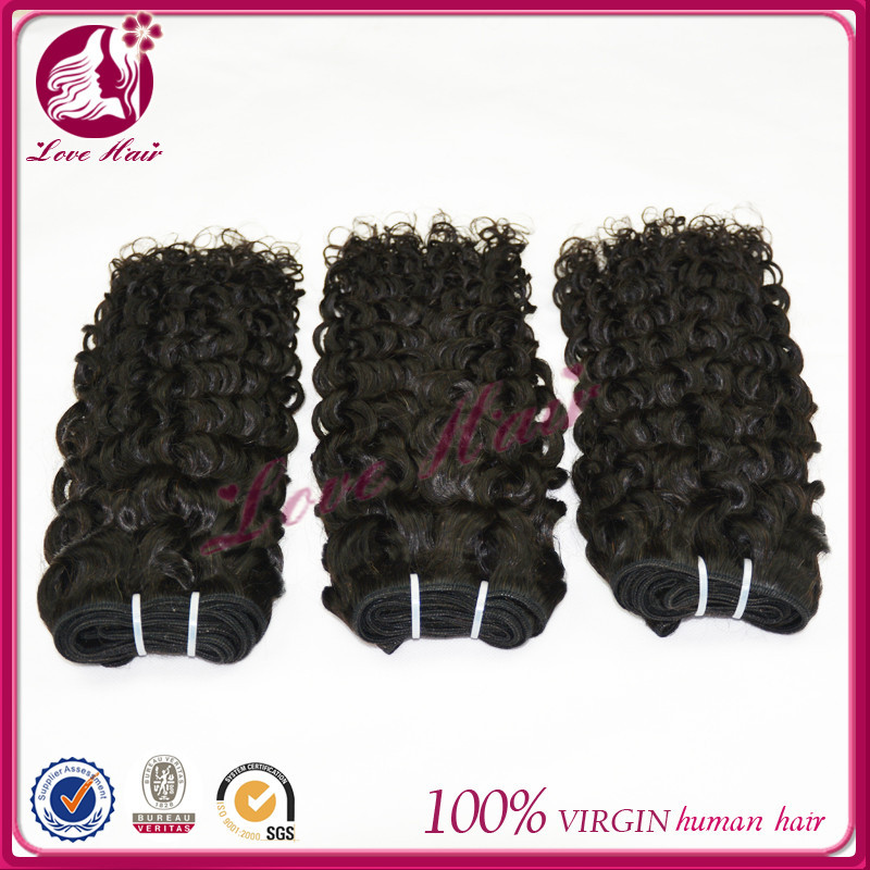 Super quality nice looking international brazilian hair company brazilian hair indian jerry curl weave 18 inch honey black