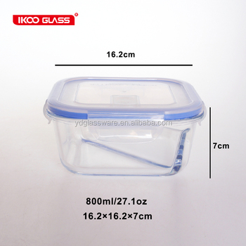 home storage & organization household glass food storage container