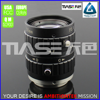 "35mm F2.0 2/3"" for camera Module Microscope display with low magnification manual focus and Iris c interface lens"