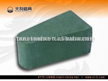 Small Triangle Magnesite Abrasive Stone for Cermaic