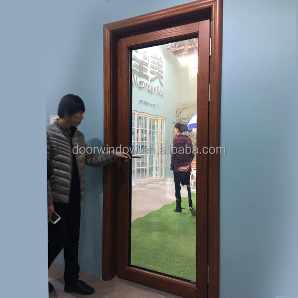Amazing Best Price Offer Main Entrance Apartment Exterior Door Design Glass Swing  Door By IGCC SGCC
