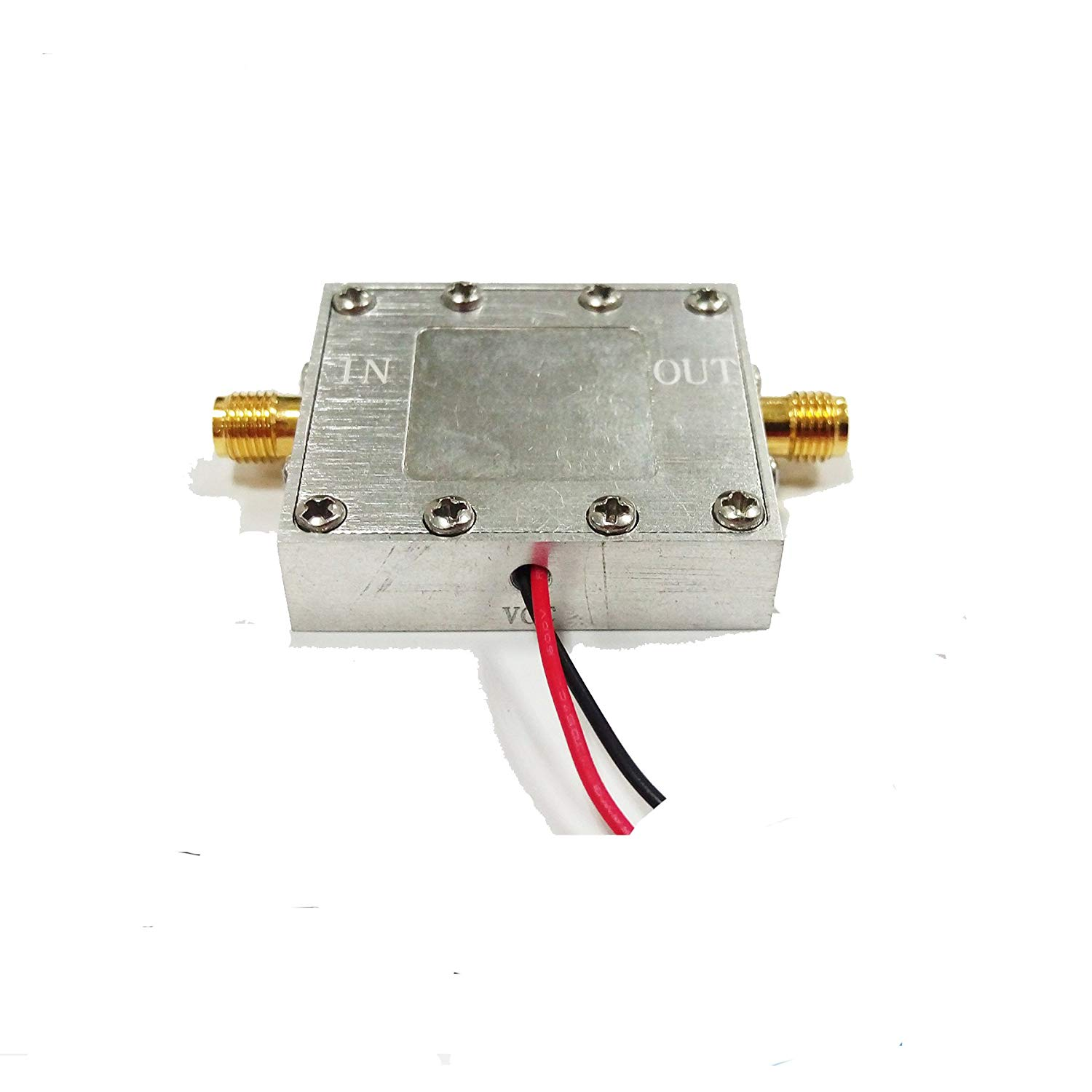 RF Amplifier Asixx LNA 0.05-4GHz NF=0.6dB Low Noise Amplifier or Wide Band Amplifier Signal Receiver for RF FM HF VHF//UHF Ham Radio