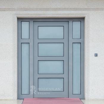 Rogenilan Exterior Commercial Glass Aluminum Frame Storefront Swing