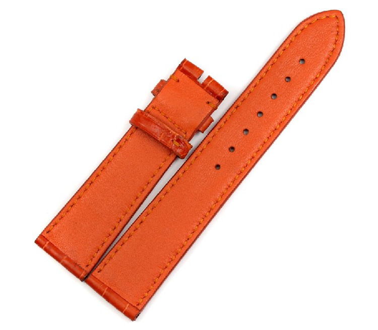 2018 luxury real alligator leather watch band oem odm genuine leather watch straps women