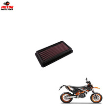 High quality aftermarket motorcycle air cleaning filter for KTM off road dirt bike motor
