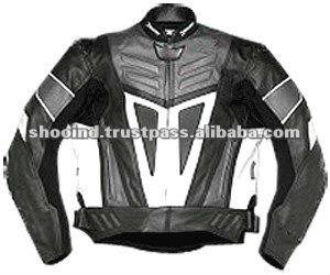 Kids Genuine Leather Motorcycle Jacket Gents Jacket Motorbike Jacket