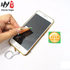 Washable microfiber adhesive sticky mobile phone screen cleaner