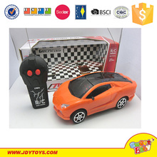 2 way remote control car with 3D light ,mini rc car