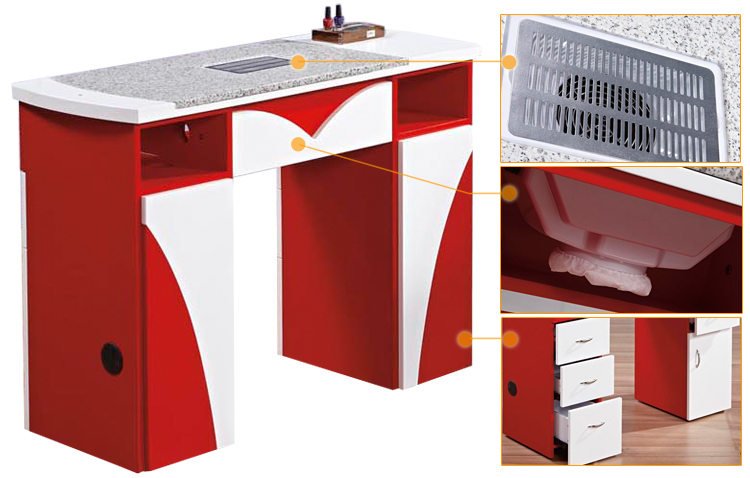 Wholesale Nail Supplier Nail Manicure Table Dust Collector (km-n096 ...