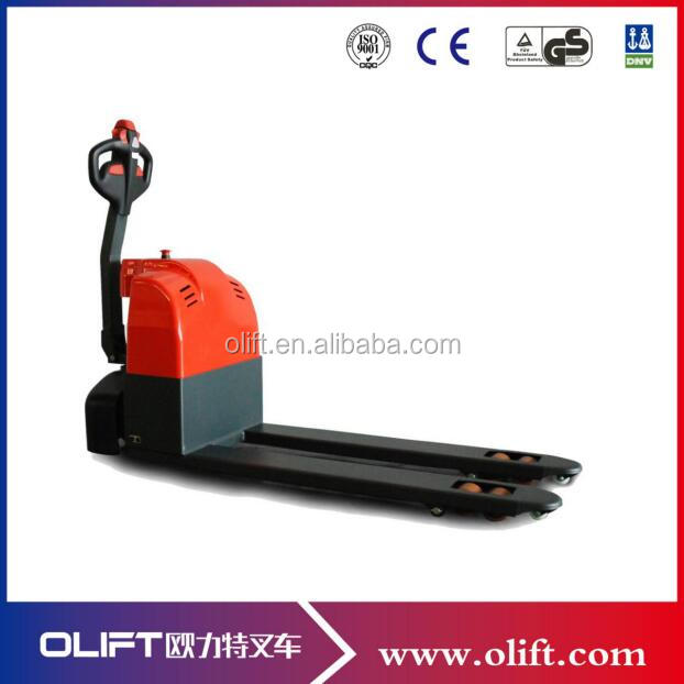 customized electric pallet truck hs code with CE certificate