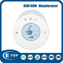 2016 new design 7days programmabl digital thermostats valve radiator heating