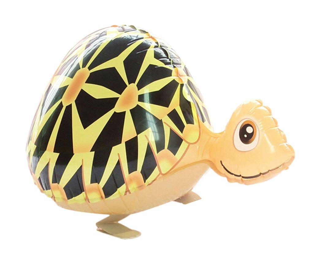 Smile YKK Party Decoration Farm Animal Tortoise Shaped Mylar Balloons