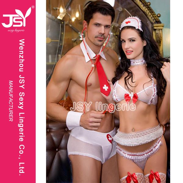 6408ccc26a4c Mejor adulto venta vestido de noche desnuda sexy Hot enfermeras doctor ropa  interior traje para parejas