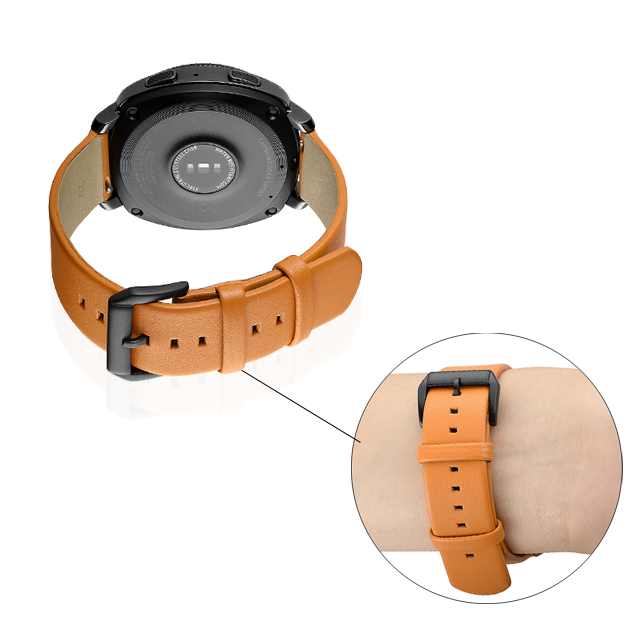 22mm Watch Leather Strap For Samsung Galaxy Watch Band