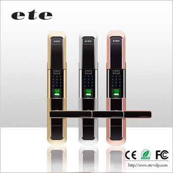 Wifi ETE Burglar Proof Padlock Hidden Keypad Entry Door Lock Digital Handle Door  Lock Industrial