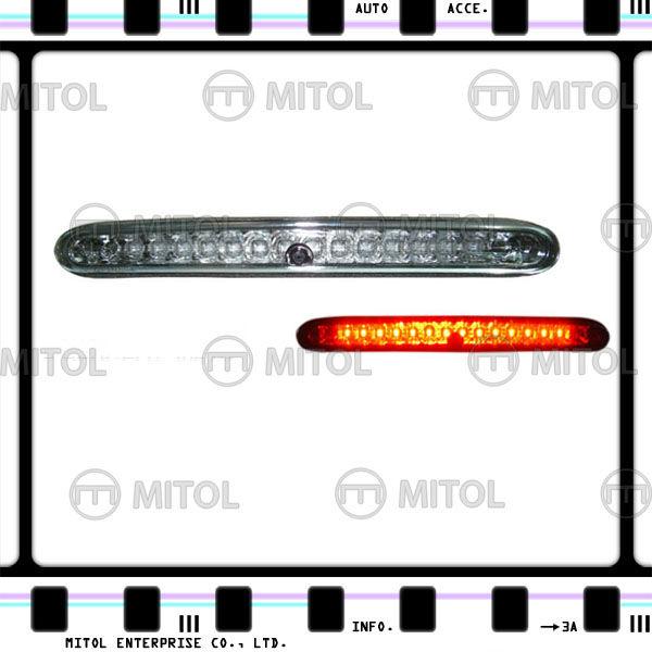 Lenti trasparenti terza luce di stop LED freno