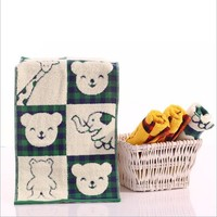 China manufacturer bath towels organic cotton baby towel cotton terry washcloths baby cotton wash cloth China