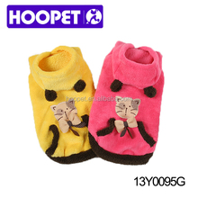Soft design cat clothes wholesale dog clothes / pet clothes / dog apparel