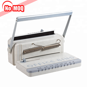 3 Years warranty letter size spiral wire-o binding machine price from China