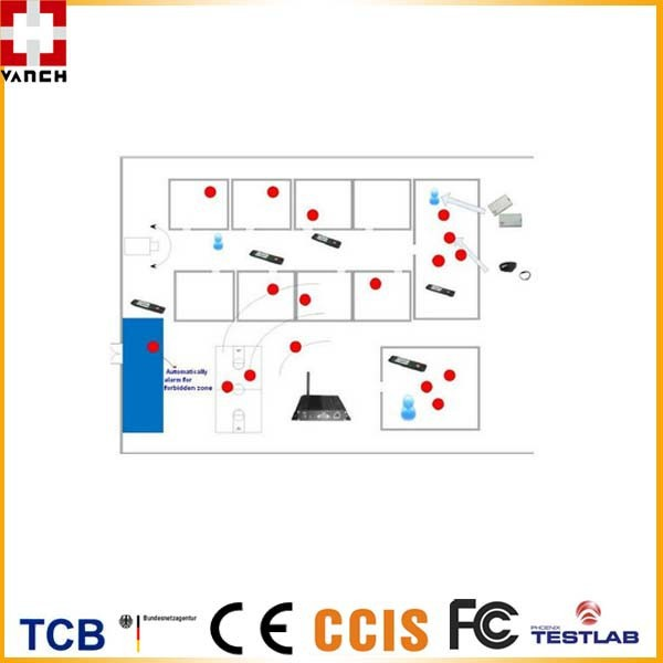 2.4ghz Active Rfid System For Nurse Employee Mining Worker ...