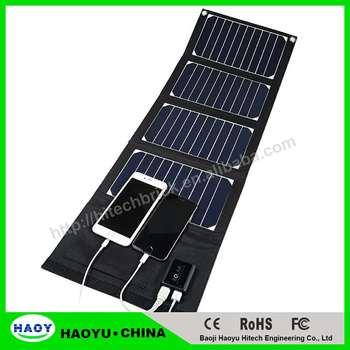 Travel Portable 20 W 5v 4a Sunpower Cells Outdoor Solar