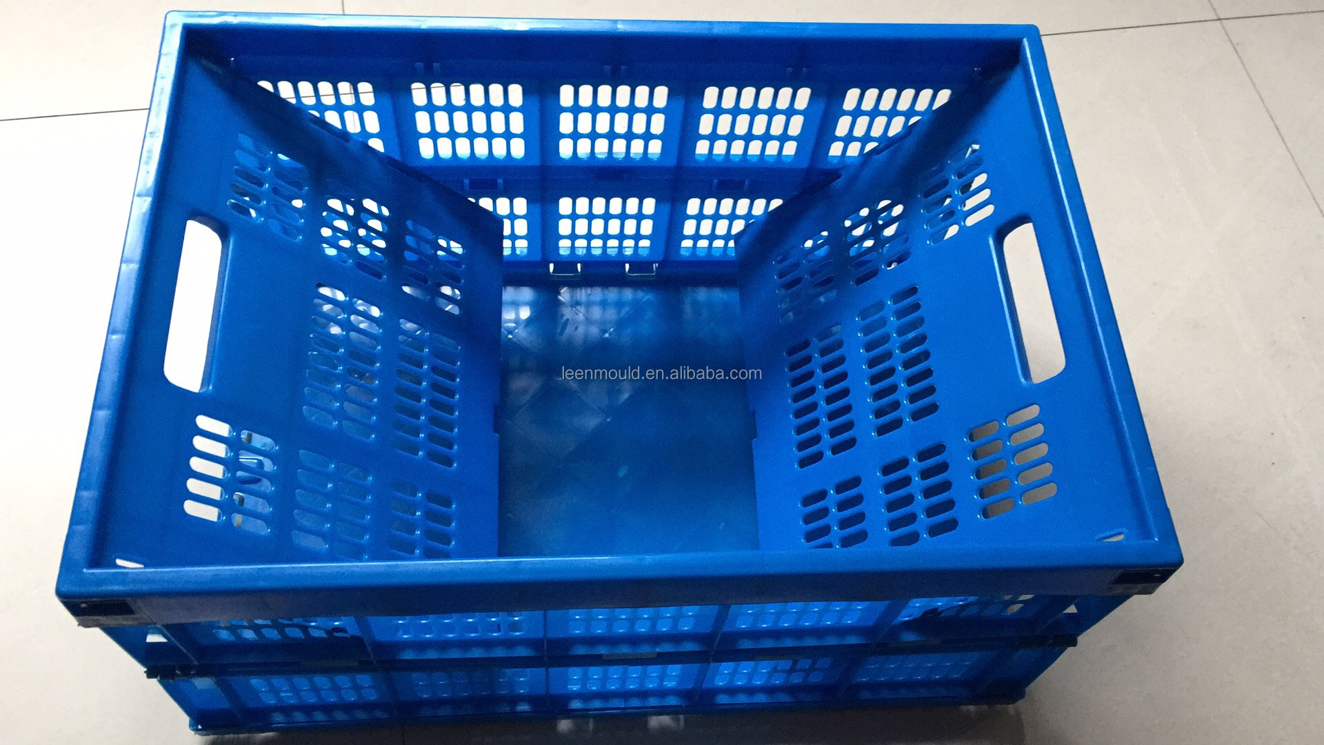 Taizhou Plastic Foldable Box/Crate/Container,Sale Fold up Plastic Boxes, Folding Turnover Box