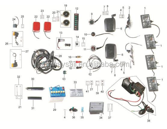 KINROAD 110CC BUGGY XT1100GK 2A spare parts buggy 1100cc kinroad, buggy 1100cc kinroad suppliers and kinroad 250 buggy wiring diagram at gsmx.co