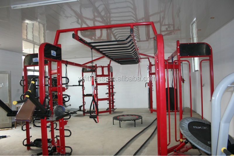 Crossfit gym equipment Synrgy360/4-station multi Gym Equipment/school or club use multi gym