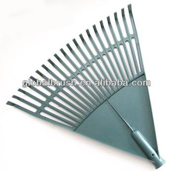 Ordinaire #4 Long Handle Garden Cleaning Tools Plastic Farm Rake PP Leaf Lawn Rake  Manufacturer