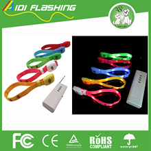 flashing wholesale eco friendly wristband party favor