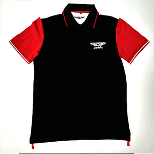 flash sale Guangzhou IN STOCK red and white KNITTED us POLO tSHIRT FOR MEN