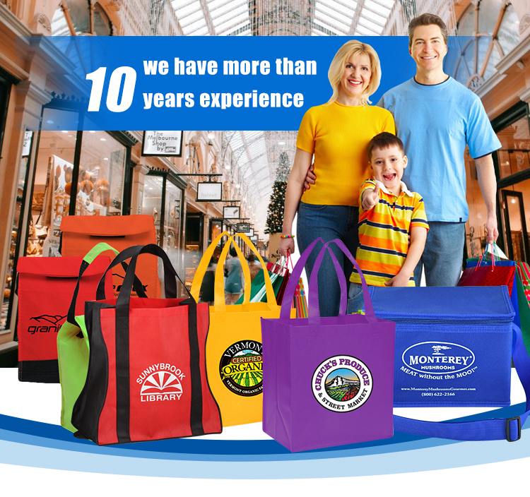 Custom Promotion Laminated PP Non Woven Bag
