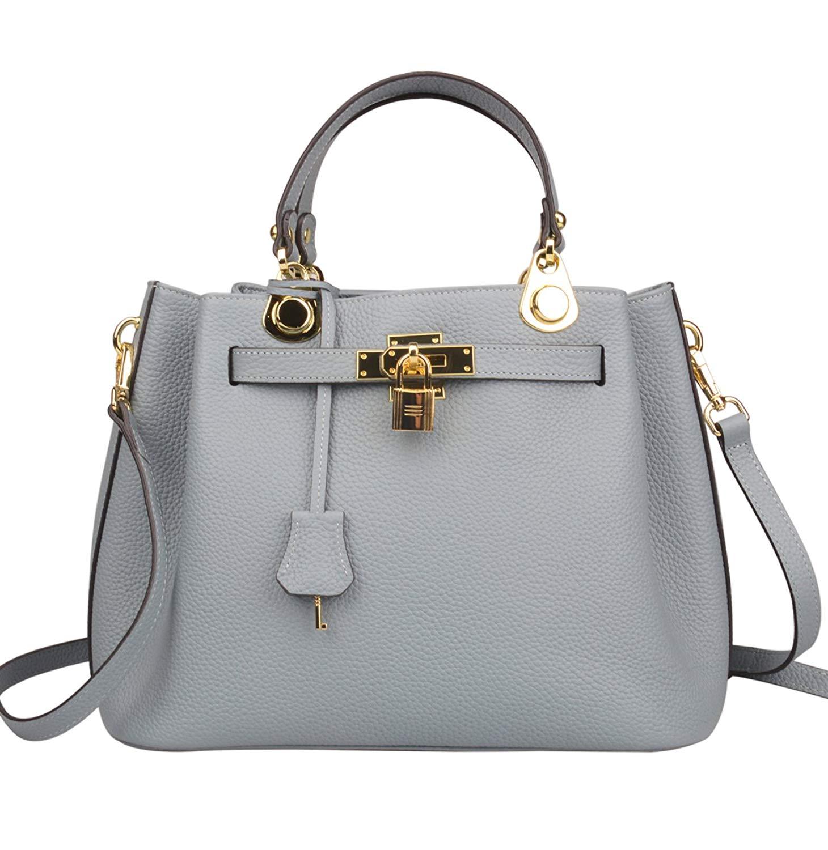d424c7478399c4 ... Office Top Handle Handbags 149.75. Ainifeel Women's Padlock Handbags  Bucket Shoulder Handbags Purse Crossbody Bag