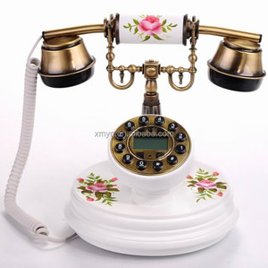 Promotional Wooden Telephone Elegant Design Durable Bedroom Furniture