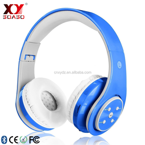 high low stereo wireless bluetooth headset FM SD card bluetooth headphone