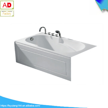 ad-3065 brand rectangle 3 wall alcove acrylic soaking sanitary ware