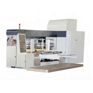 GYKM180 series 1200 high speed flexo printer slotter and die-cutter box making machine