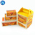 Disposable foldable ready to go hamburger french fried chicken custom food box